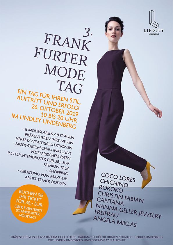 Chichino Beim Frankfurter Modetag