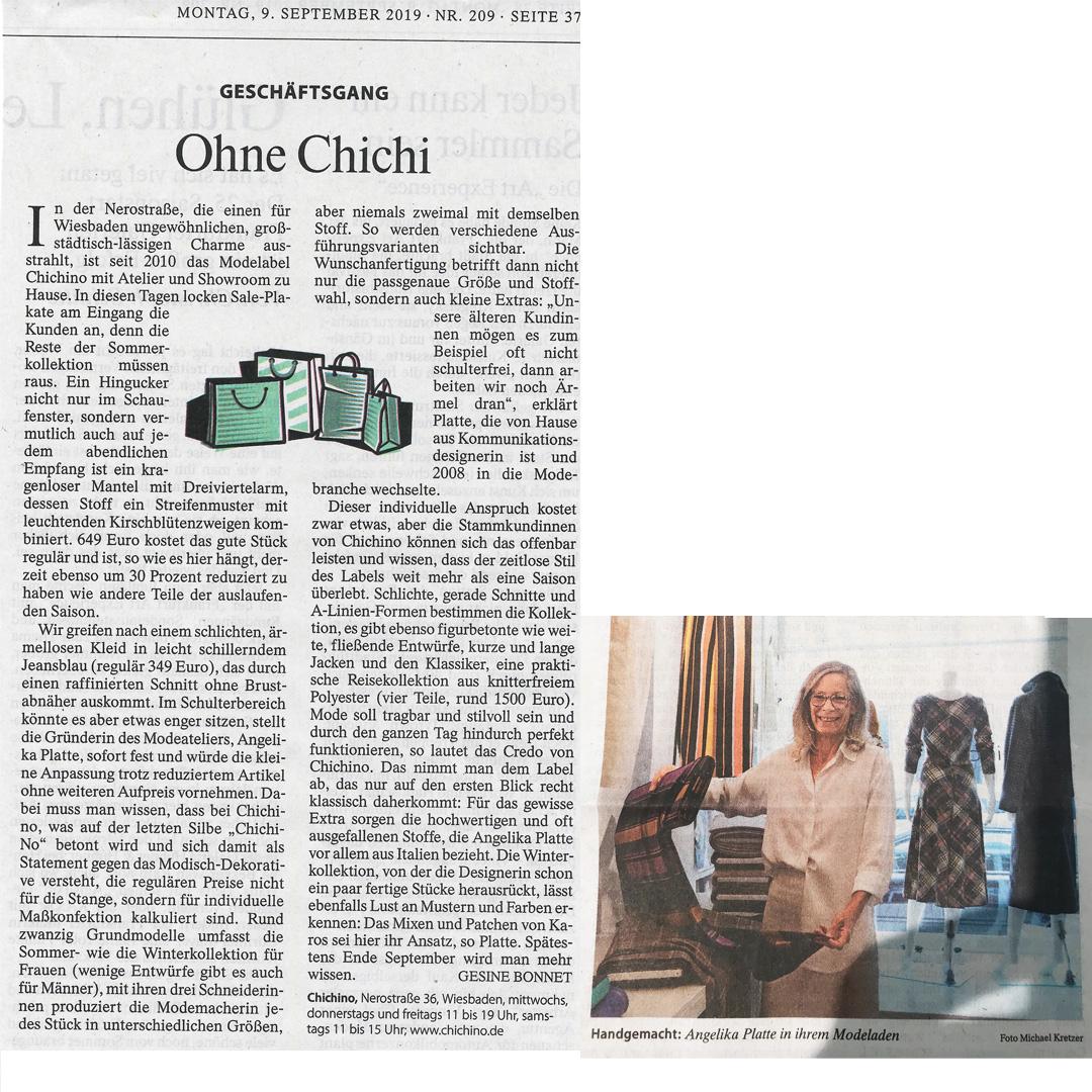FAZ-Artikel Chichino