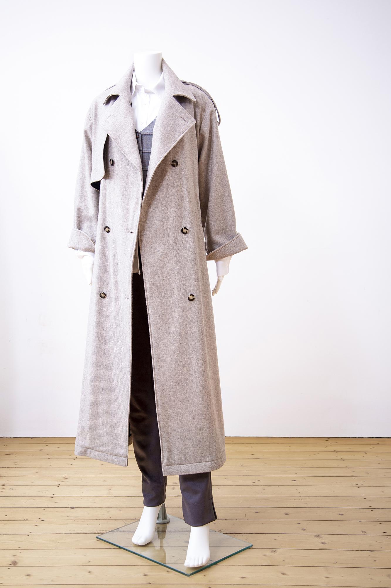 Chichino FW21-22 Trenchcoat Wolle